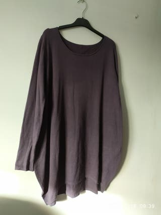 jersey lana gris