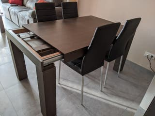 Conjunto muebles comedor moderno perfecto estado