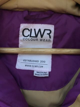 Chaqueta mujer Colour Wear