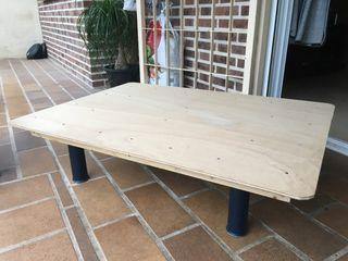 Cama de perro de madera (estructura)