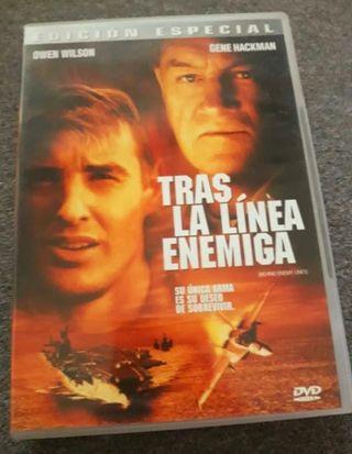 """DVD """"TRAS LA LÍNEA ENEMIGA """" De Gene Hackman"""