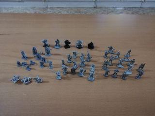 lote miniaturas plomo. años 80 y 90