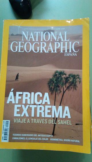 10 revistas National Geographic