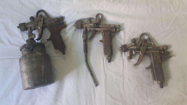 pistola de pintar