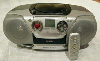 Philips AZ1316 cd Radio Cassette
