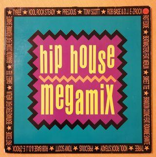 Disco vinilo Mixed HIP HOUSE MEGAMIX