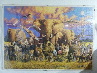 puzzle, 70 x 50cm