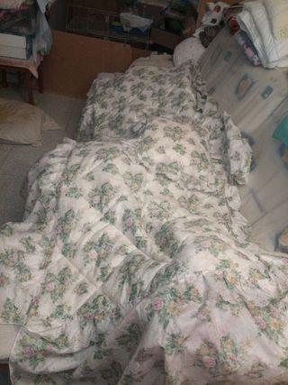 colcha cama pequeña 80