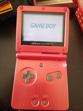 pack Game boy advance sp + accesorios