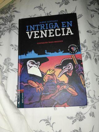 libro intriga en Venecia