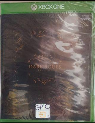 Dark Souls Trilogy Xbox One Nuevo