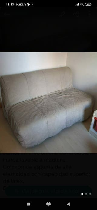 sofa cama 2 plazas ( esta en hospitalet)