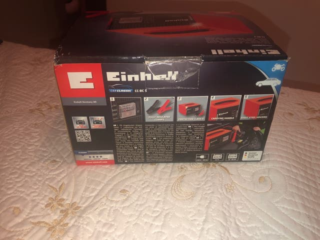 Cargador de bateria Einhell