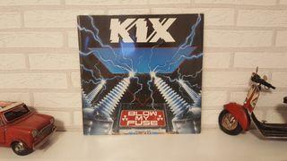Disco de vinilo lp Kix Blow my fuse 1988