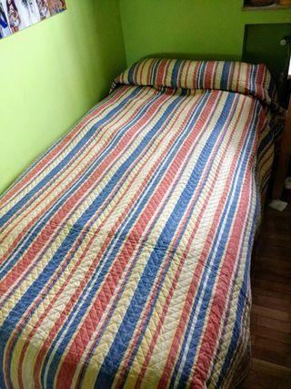 Colcha reversible cama de 90