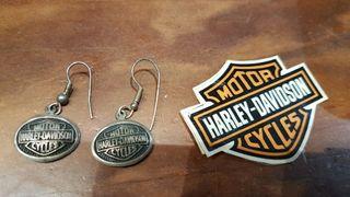 Pendientes Harley Davidson