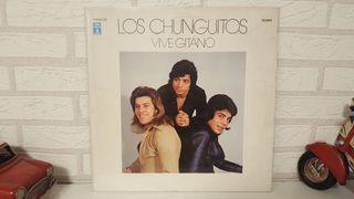 Disco de vinilo lp Los ChunguitosVive gitano