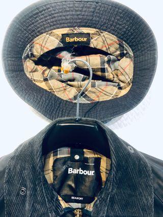 BARBOUR BEAUFORT WAX JACKET + BUCKET GRATIS