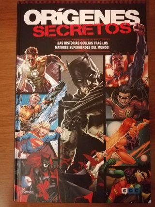 Cómic orígenes secretos. dc comics