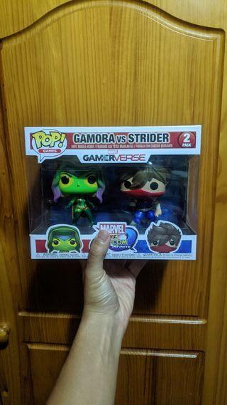 Figura Funko Gamora Strider Marvel Capcom