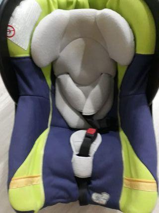 Silla auto bebé 0-13kgs