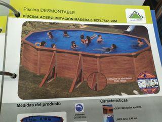 piscina regalada de precio por mudanza