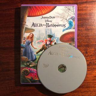 DVD Alicia en el País de las Maravillas
