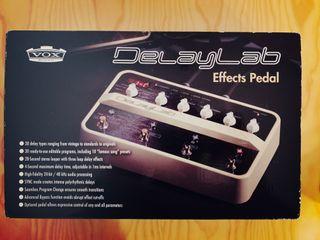 Pedal efectos guitarra VOX DelayLab
