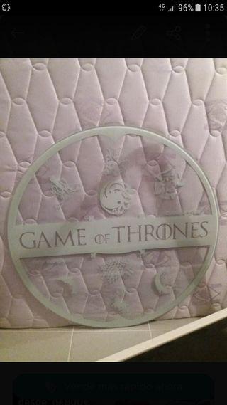 Tablero Cristal juego de tronos