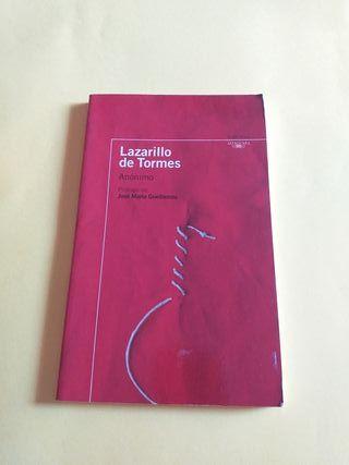 Libro. Lazarillo De Tormes. Anónimo.