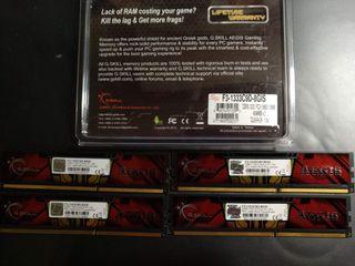 16 gb de Memoria DDR3-1333 pc3-10600 (4x4GB)