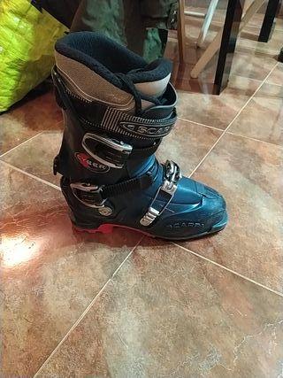 botas esqui travesía