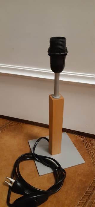 base para lampara de sobremesa