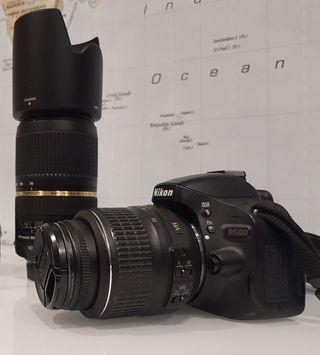 objetivo para nikon Tamrom SP 70-300 mm DI VC USD