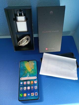 Huawei mate 20 factura y garantía
