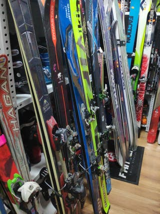 Taller Ski Montaña Fijaciones, Pieles Foca, Montaj