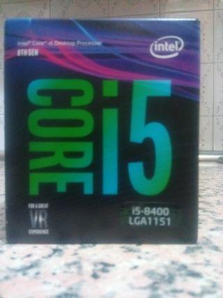 Procesador I5 8400 intel