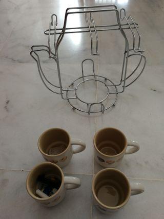 conjunto café con accesorio