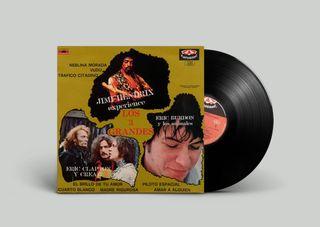 Varios Los 3 Grandes Hendrix - Cream - Eric Burdon