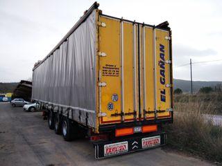 semi remolque de trailer