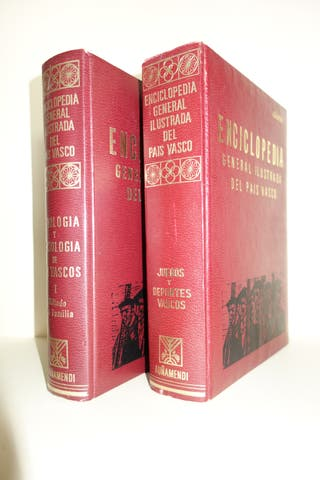 Enciclopedia general ilustrada del País Vasco