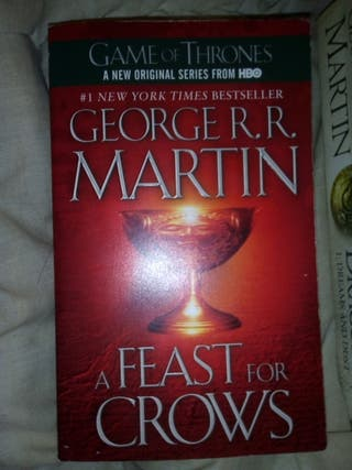 A feast for crows - George R R Martin