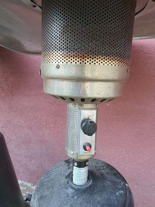estufa de exterior a gas