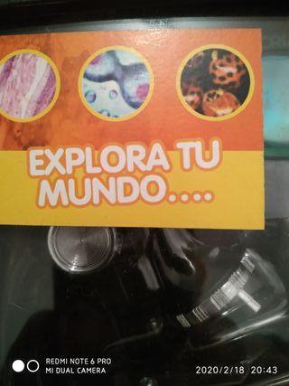 microscopio national geographic