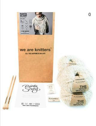 Kit de calceta de we are knitters