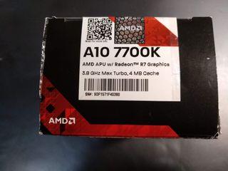 Cpu AMD A10 77000K Quad Core