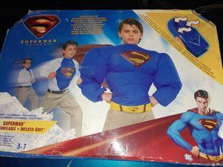 Disfraz Superman Returns inflable MATTEL 3-7 años