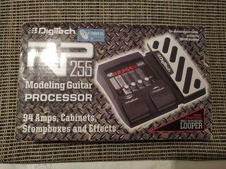Multiefectos de guitarra Digitech RP 255