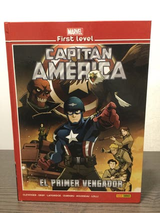 Marvel First Level Capitán América