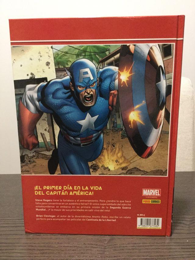 Marvel First Level Capitán América